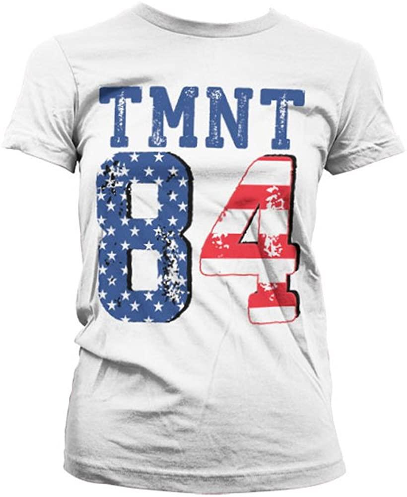 Teenage Mutant Ninja Turtles Officially Licensed Merchandise TMNT - USA 1984 Women T-Shirt