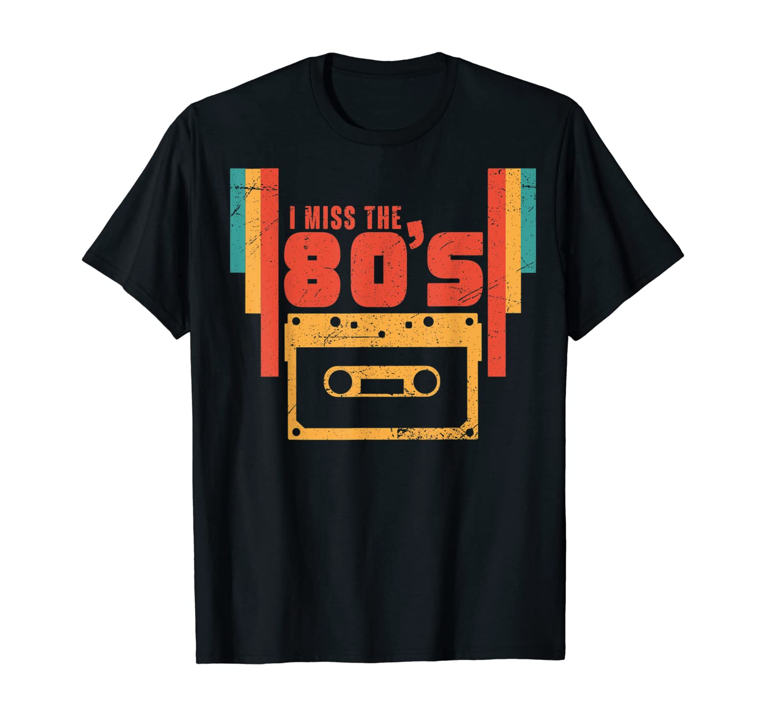 I Miss The 80s Retro Vintage Eighties Music T-Shirt