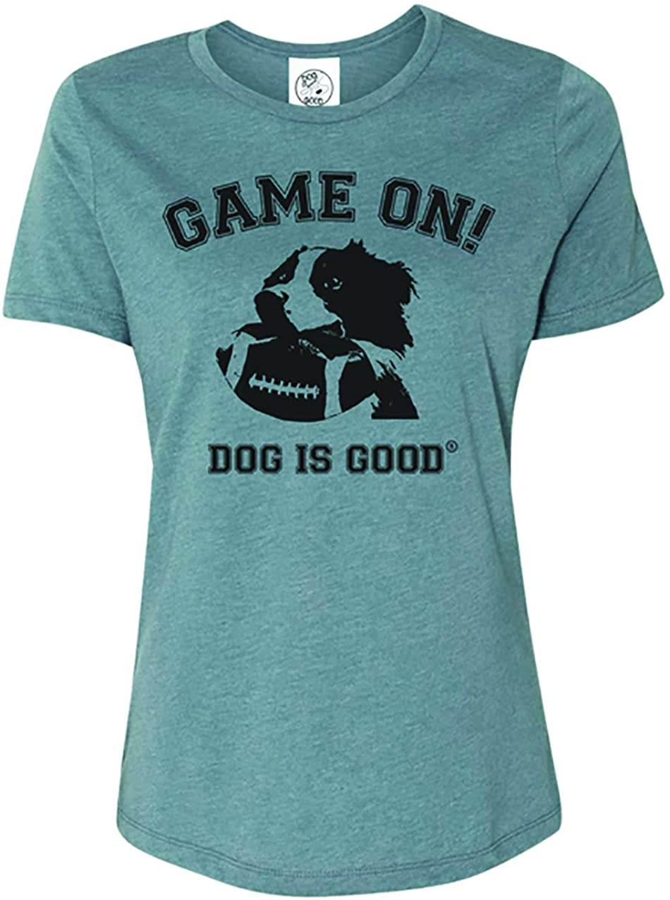 Dog is Good Game On Women's Short Sleeve T-Shirt - Great Gift for Dog Lovers