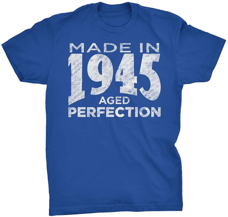 75th Birthday Gift T-Shirt - Made in 1945 - Birth Year