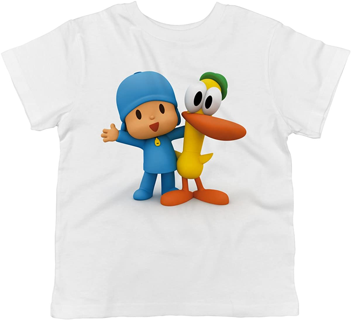 Trunk Candy Pocoyo - Pocoyo and Pato Best Pals Toddler 100% Cotton T-Shirt
