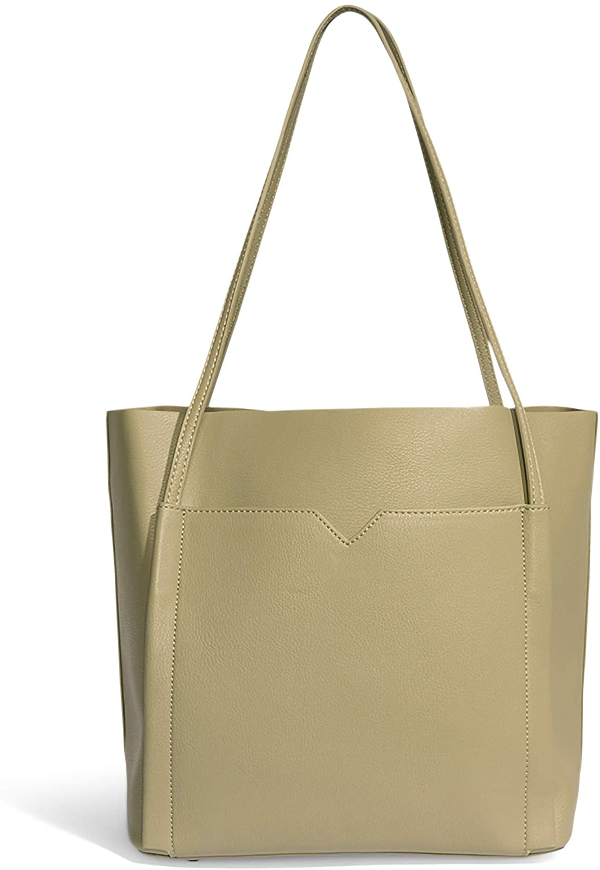 Pixie Mood Clara 12.75 x 10.5 Vegan Leather Shoulder Tote Bag
