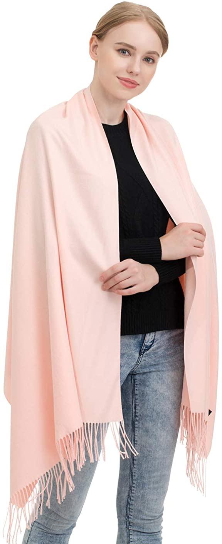 JAKY Global Cashmere Scarf Pashminas Wraps Shawl Super Soft Warm 78