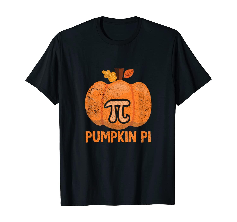 Halloween Math Teacher Fun Pumpkin Pi T-Shirt