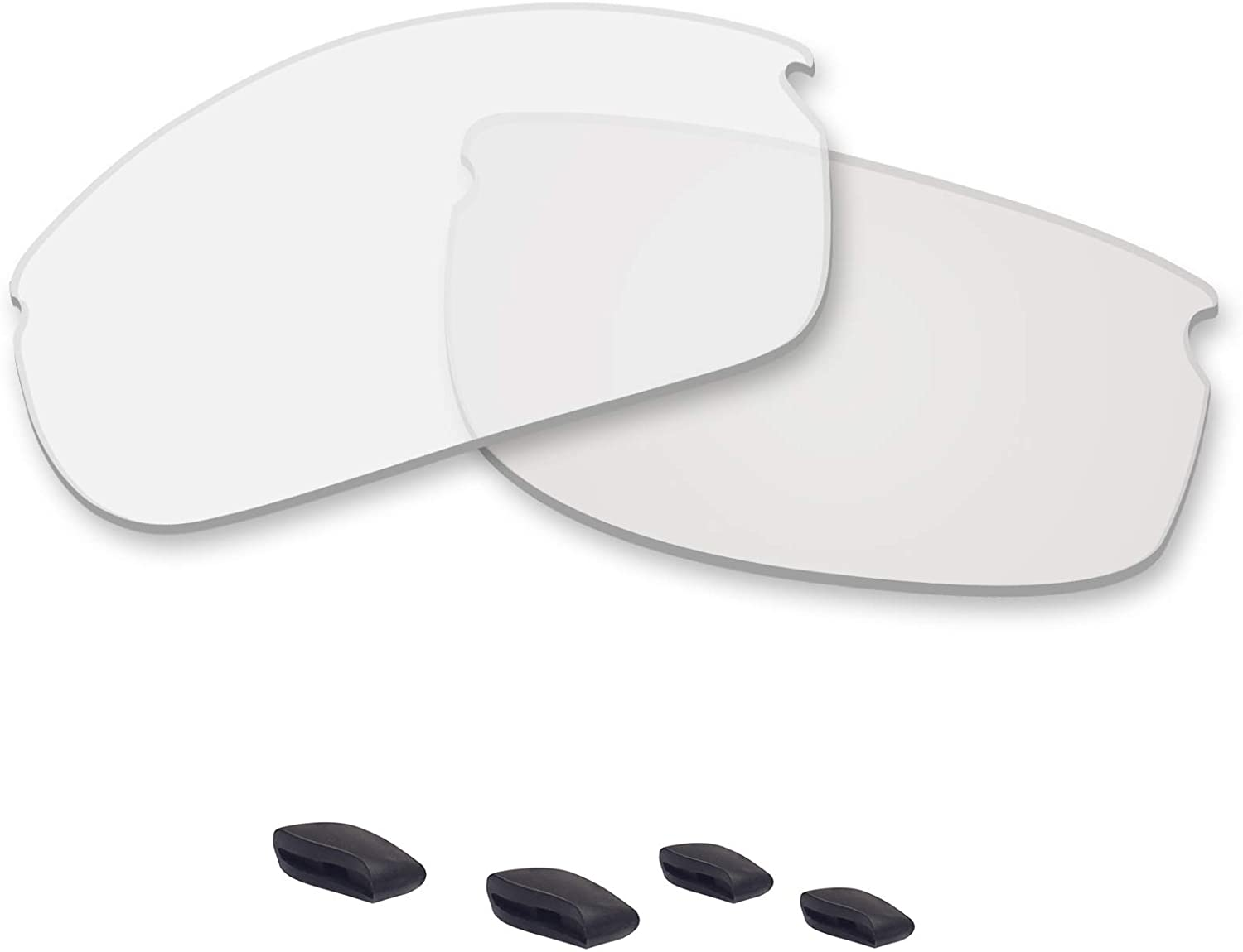 Betterun Polycarbonate Polarized Replacement Lenses/Nose Pad for Oakley Commit SQ