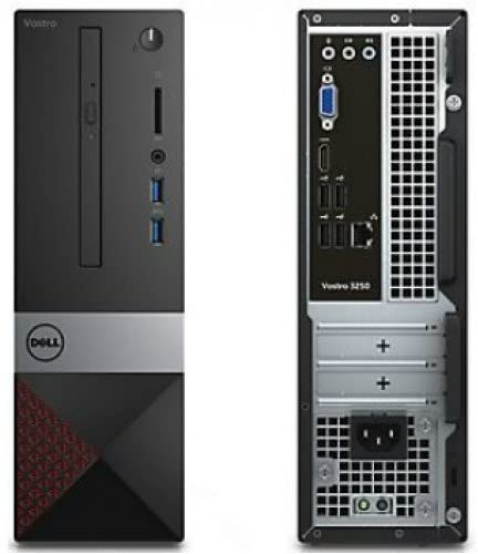 2019 Dell Vostro 3470 Mini Tower 8th Generation Desktop Computer PC (Intel Quad Core i5-8400, 8GB Ram, 256GB SSD, HDMI, VGA, WiFi, DVD-RW) Windows 10 (Renewed)