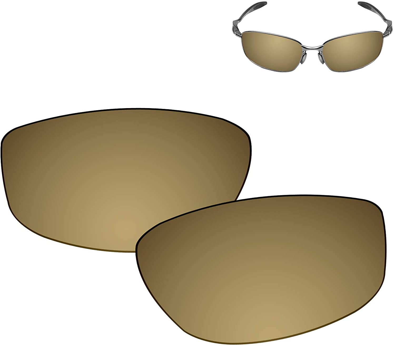 Galvanic Replacement Lenses for Oakley Blender OO4059 Sunglasses - Multiple Choices