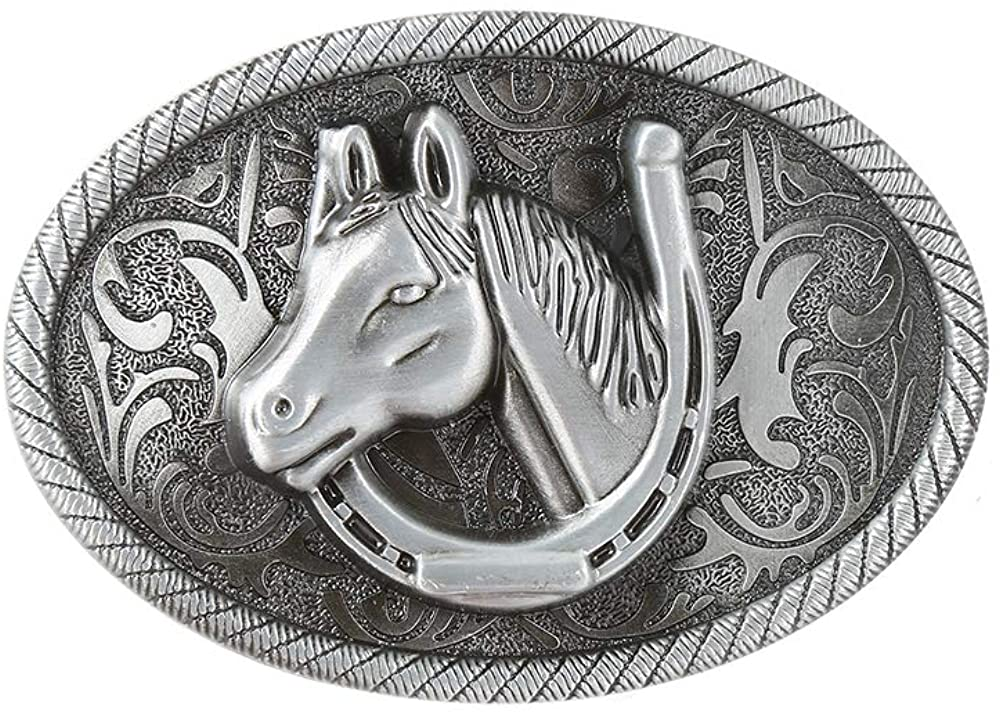 KDG Western cowboy belt buckle for belt accessories Custom buckle