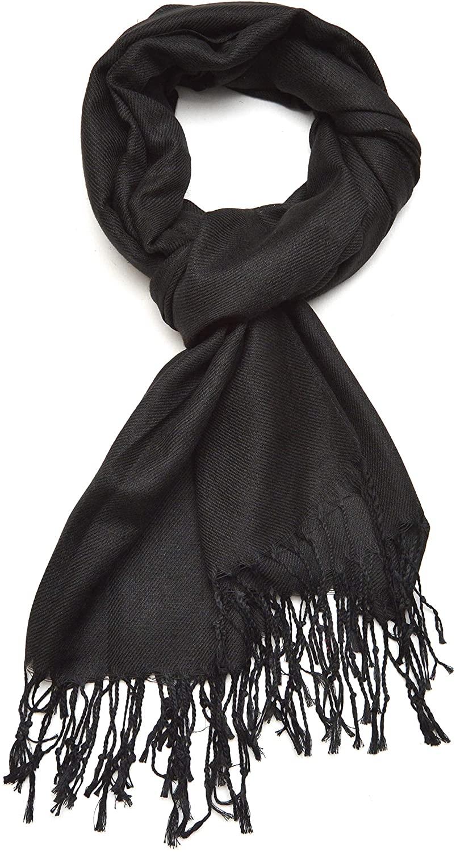 Gelante Plain Soft Pashmina Shawl Wrap Scarf Solid Colors.