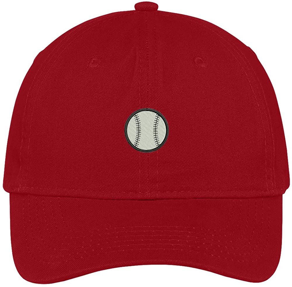Trendy Apparel Shop Baseball Embroidered Soft Low Profile Cotton Cap Dad Hat