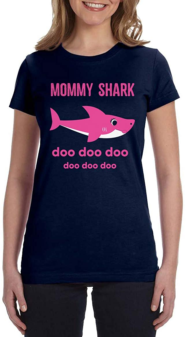Daddy Shark & Baby Shark Men's T-Shirt & Infant Bodysuit Matching Set