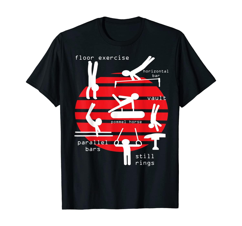 Men Gymnastics Events T-Shirt