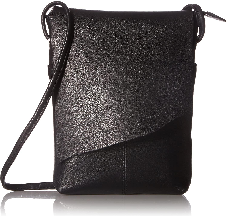 ili New York 6647 Leather Mini Sac Flap Crossbody