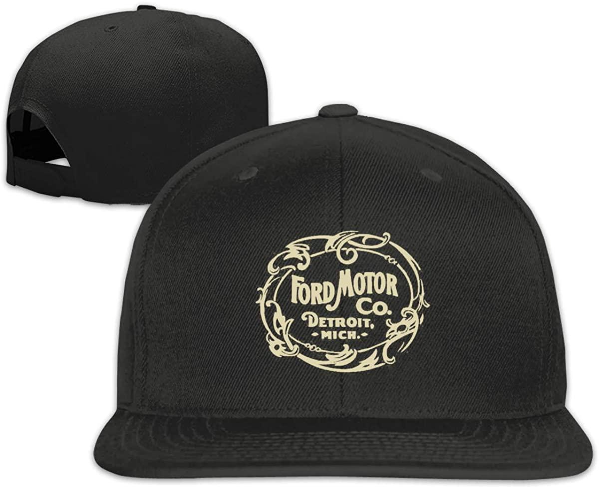 Donmlier Baseball Caps Men&Women Casual Ford Motor Company Detroit Adjustable Flat Hats
