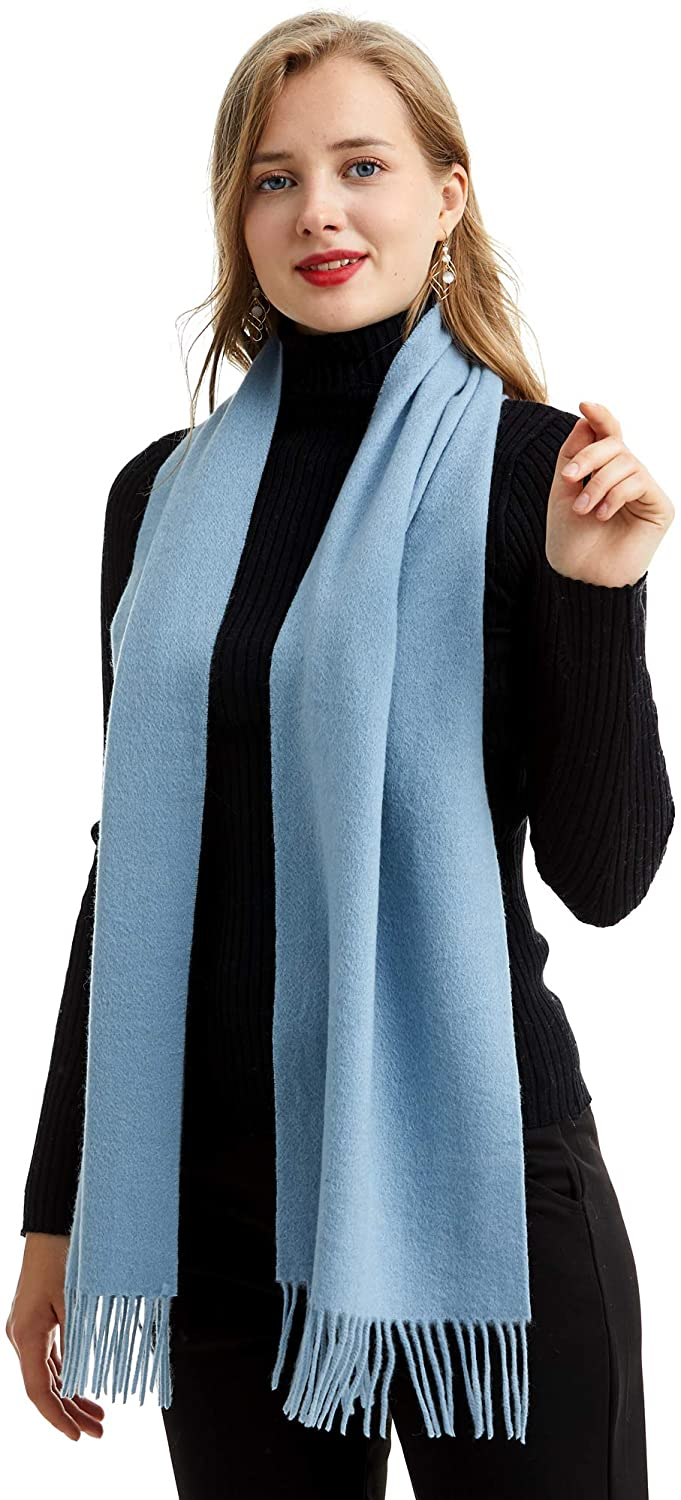 Pure Cashmere Long Scarf, 100% Cashmere, Gorgeous and Natural, K0102