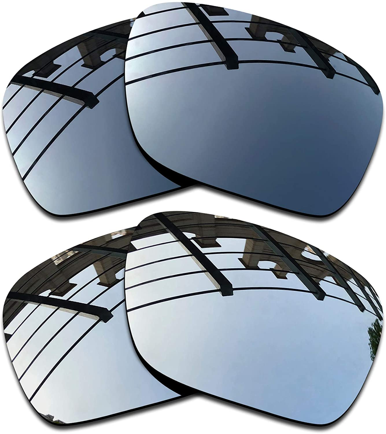 SEEABLE Premium Polarized Mirror Replacement Lenses for Oakley Ten OO9128 Sunglasses
