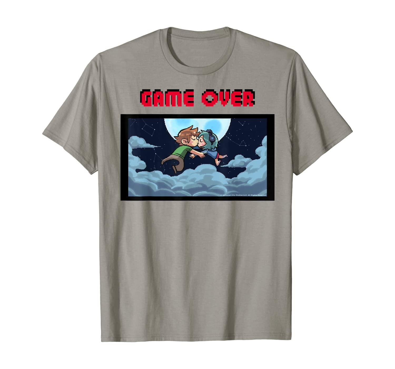 Scott Pilgrim Vs. The World Game Over Kiss T-Shirt