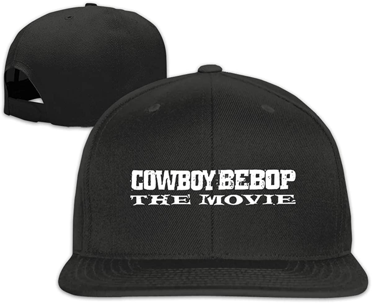 Cowboy Bebop Baseball Hats Snapback Flat Baseball Hats Men Adjustable White