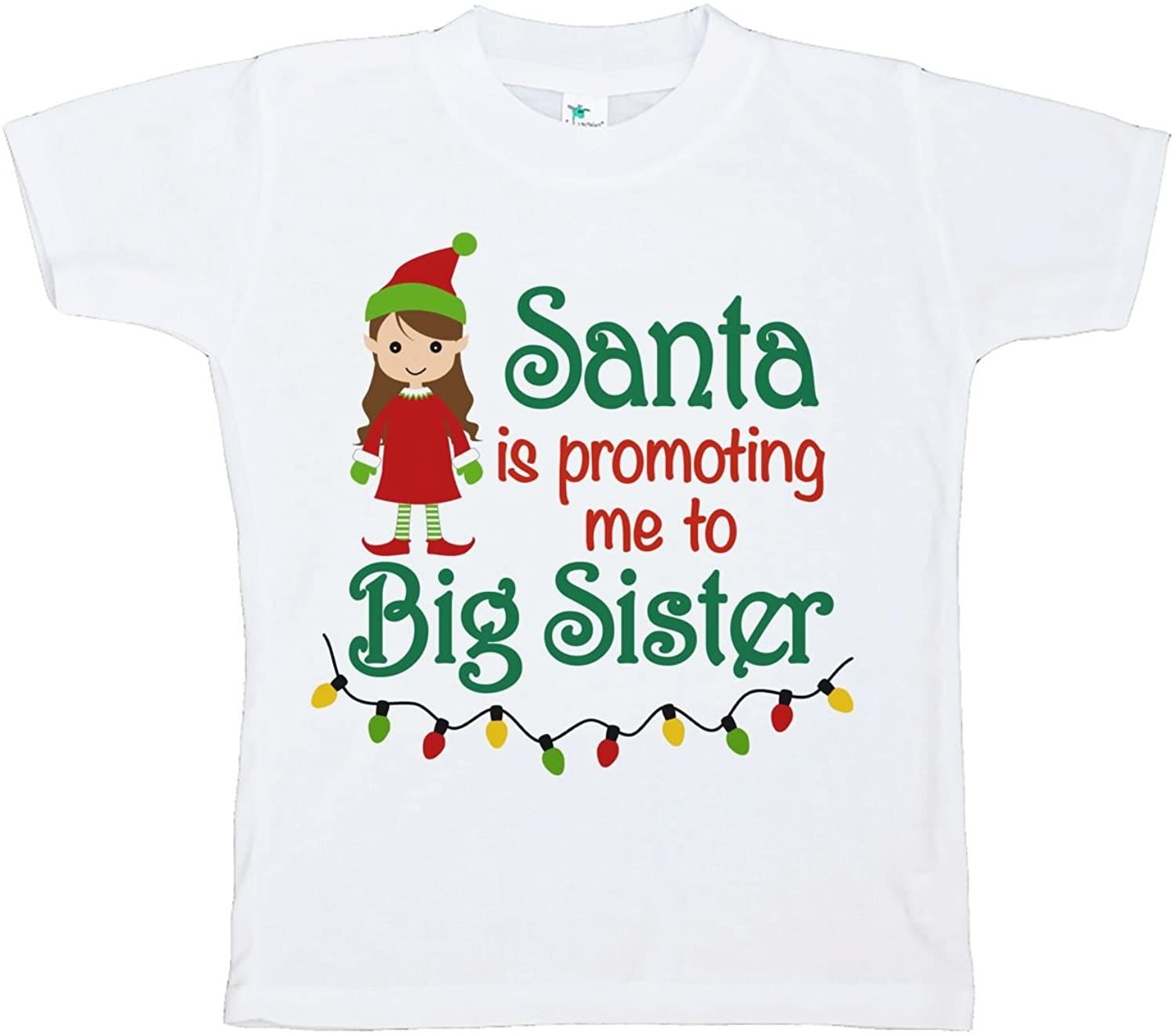 Custom Party Shop Youth Big Sister Christmas T-Shirt