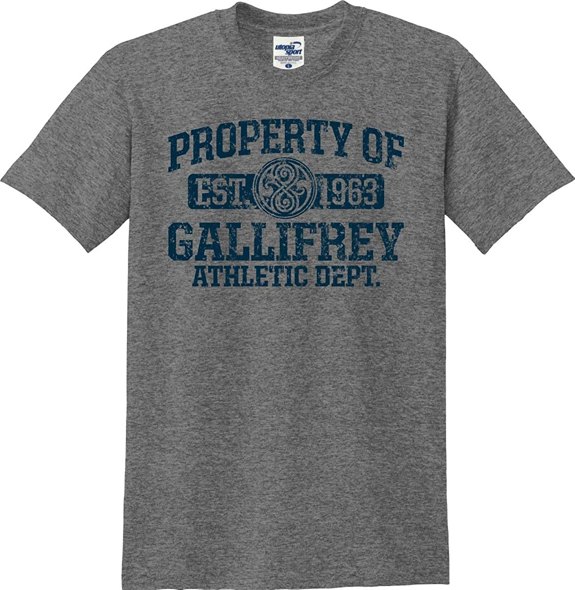 Utopia Sport Property of Gallifrey Athletic Department T-Shirt (S-5X)