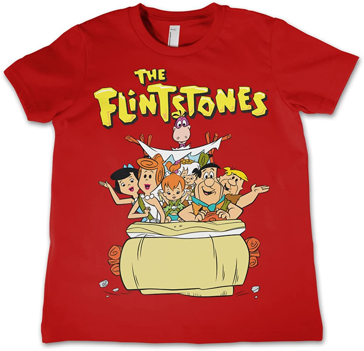 Flintstones Officially Licensed The Unisex Kids T-Shirt Ages 3-12 Years