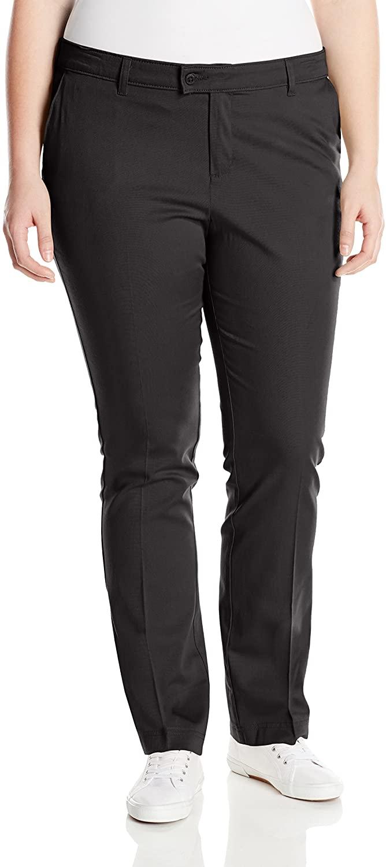 Dickies Juniors Plus Size Slim Straight Stretch Pant