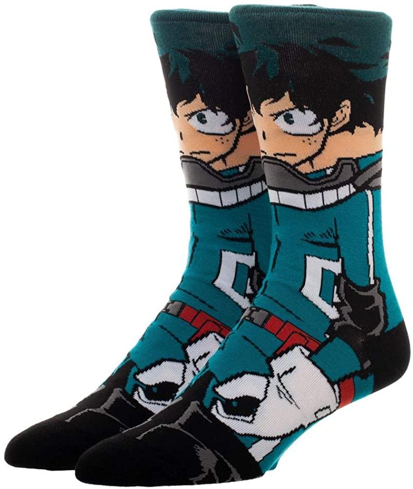My Hero Academia 360 Adult Crew Socks