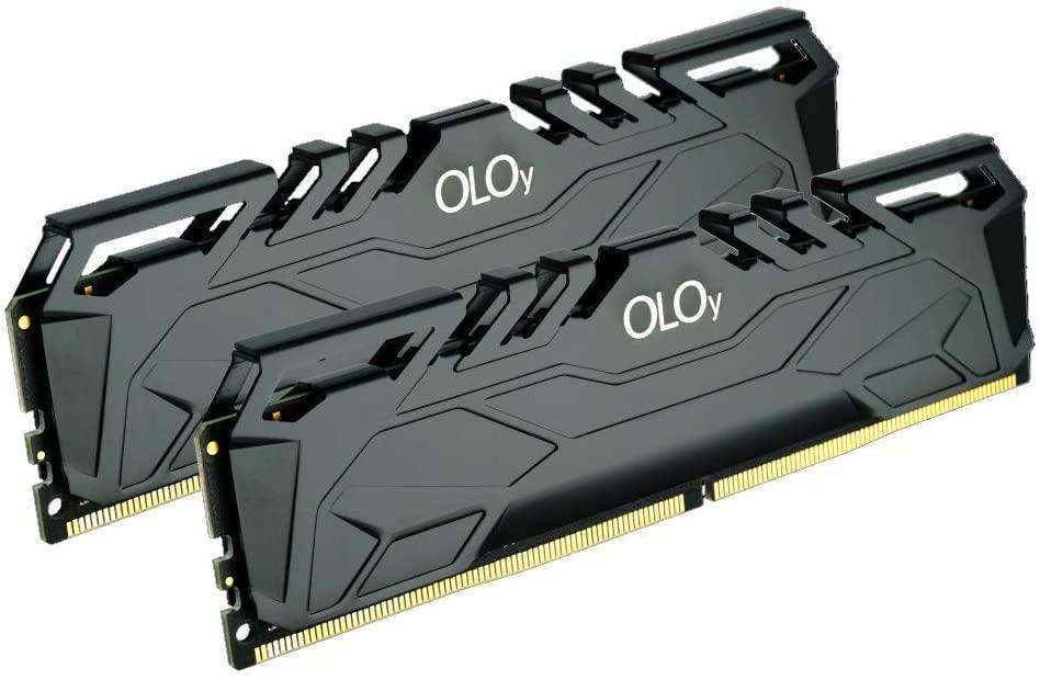 OLOy DDR4 RAM 32GB (2x16GB) 2666 MHz CL19 1.2V 288-Pin Desktop Gaming UDIMM (MD4U162619BJDA)