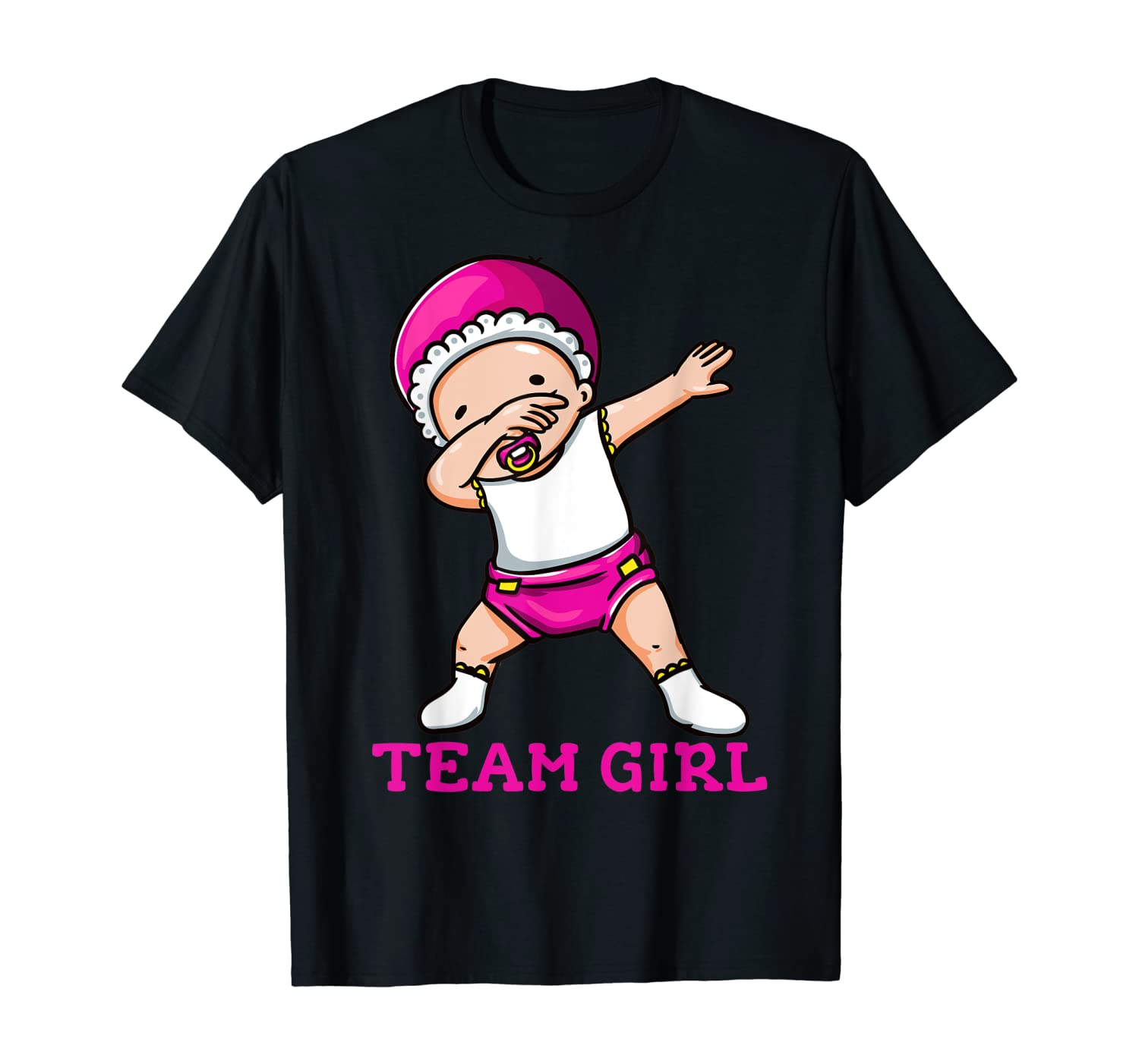 Gender Reveal Team Girl T-Shirt