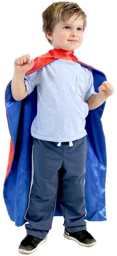 Reversible Child Superhero Costume Capes