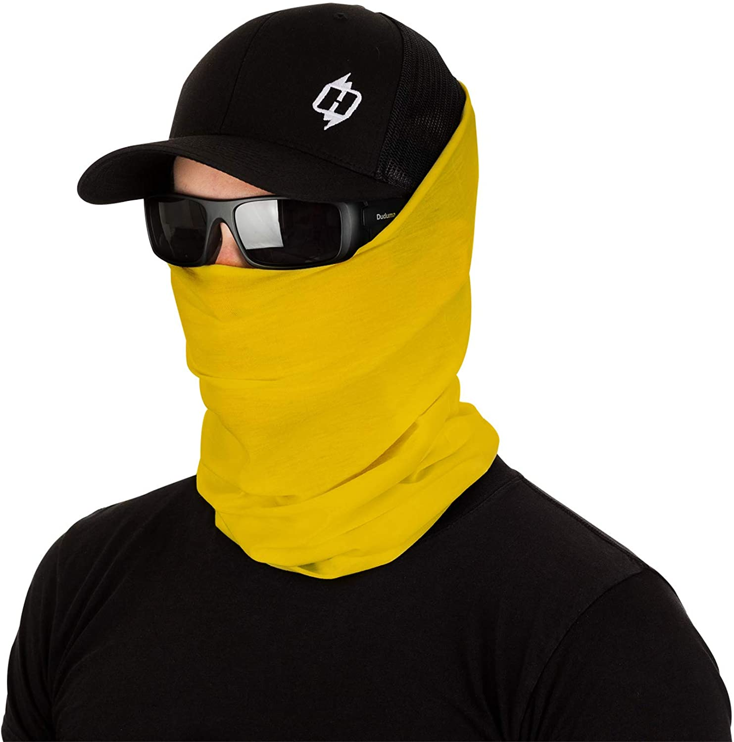 Solid Color Face Mask, Neck Gaiter and Bandana Combo by Hoo-rag