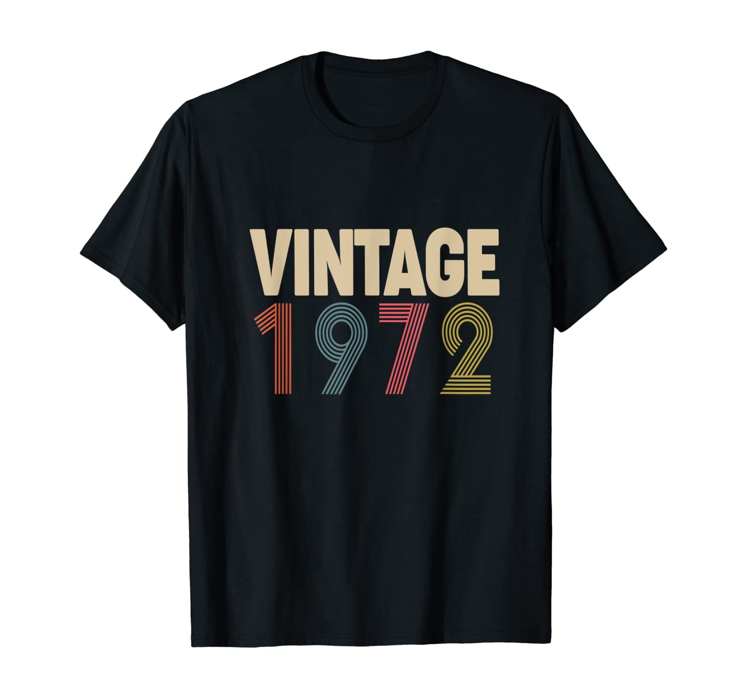 Birthday Gift Vintage 1972 Classic T-Shirt