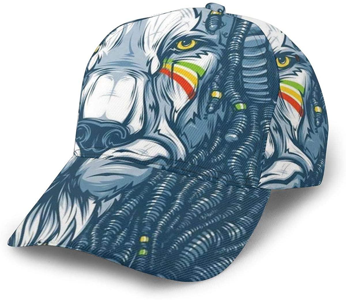 Unisex Adjustable Hat Classic Baseball Cap Printed Baseball Cap Hip Hop Hats