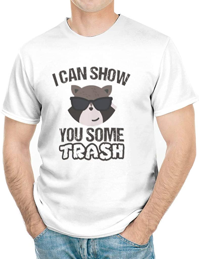 I Can Show You Some Trash T Shirt, Vintage Raccoon Bear Graphic Tshirt