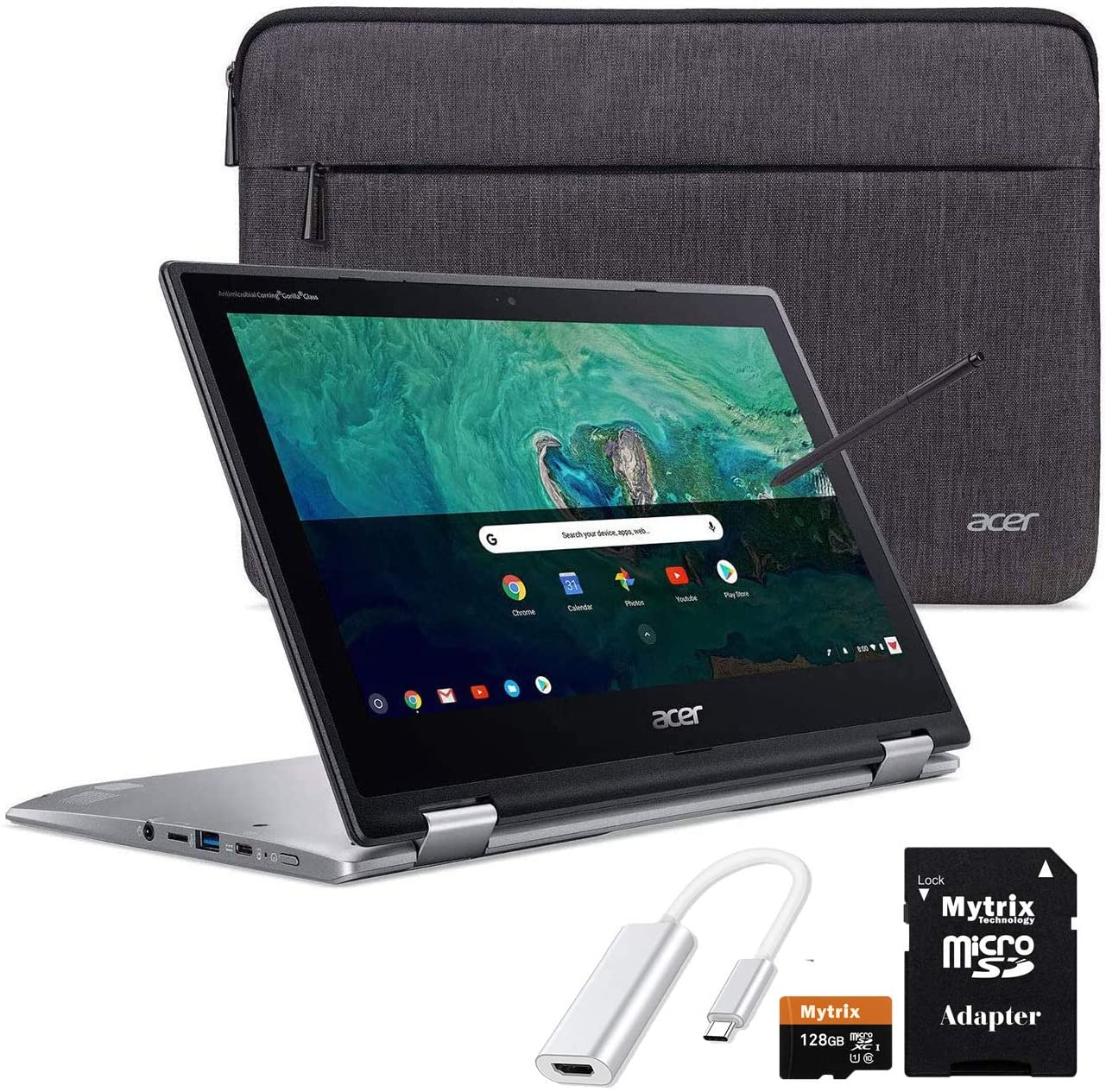 Acer Chromebook Spin 11 2-in-1 Convertible Touchscreen Laptop 11.6