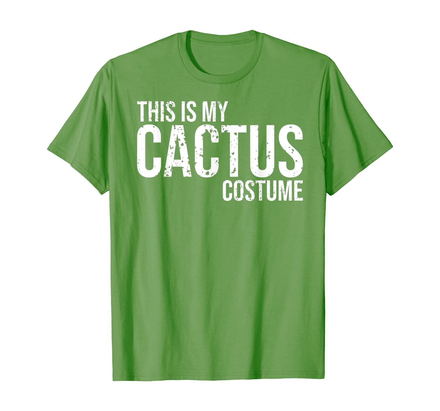 Vintage This Is My Cactus Costume Shirt For Halloween