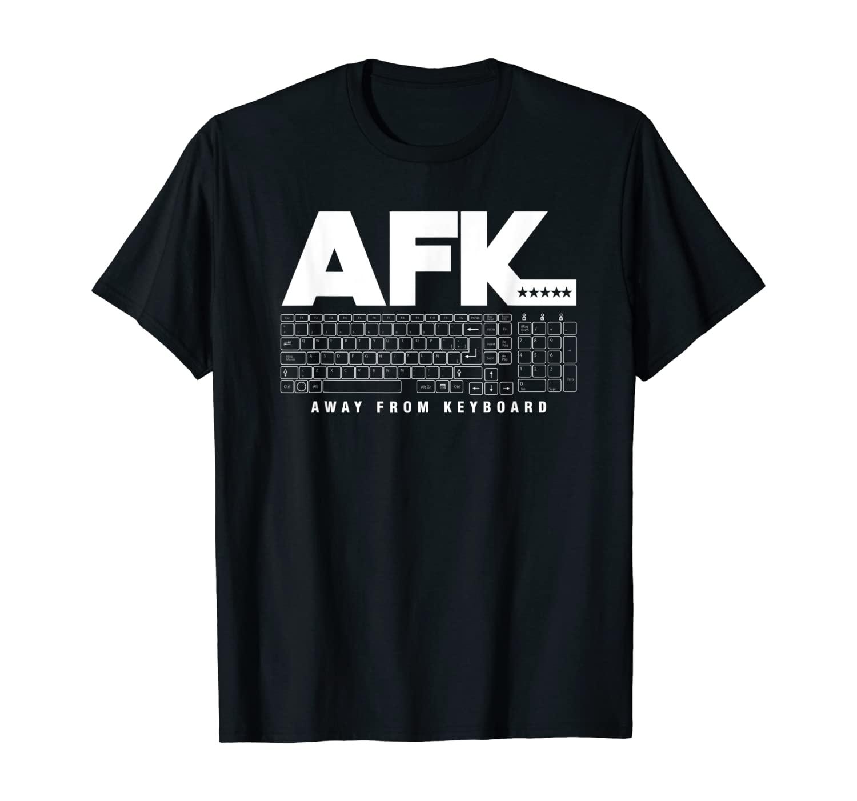 Programmer Coder Coding AFK Away From Keyboard Gamer T-Shirt