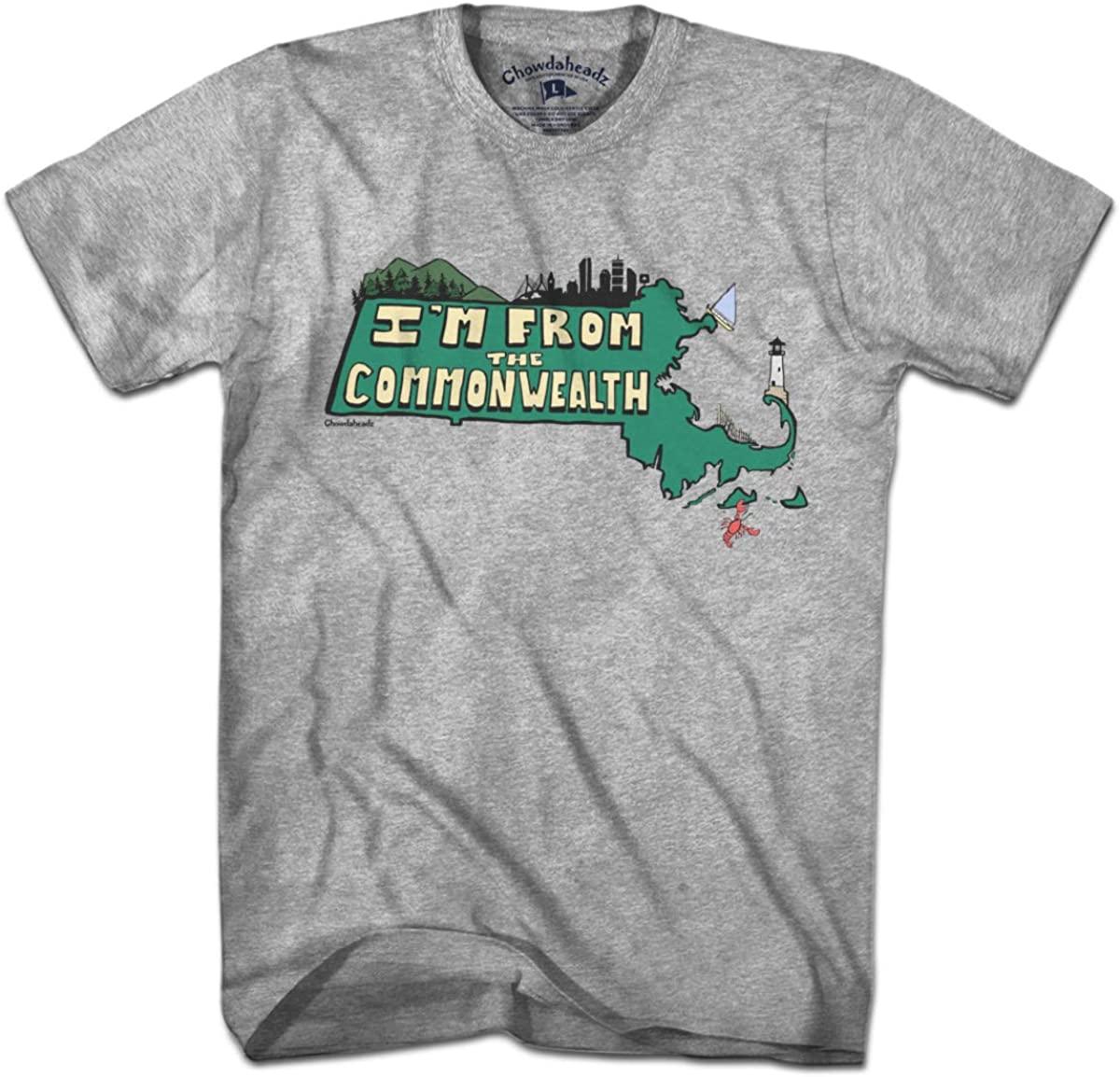 I'm From the Commonwealth Massachusetts T-Shirt