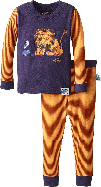 Intimo Little Boys' Eric Carle Lion Pajamas