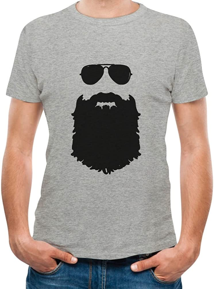 TeeStars - Beard & Sunglasses The Hipsters Apparel Gift Idea Cool T-Shirt