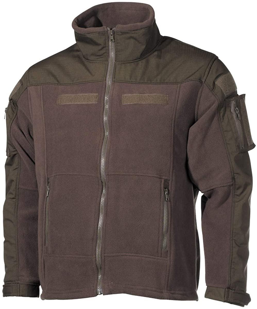 MFH Men's US Combat Fleece Jacket Olive