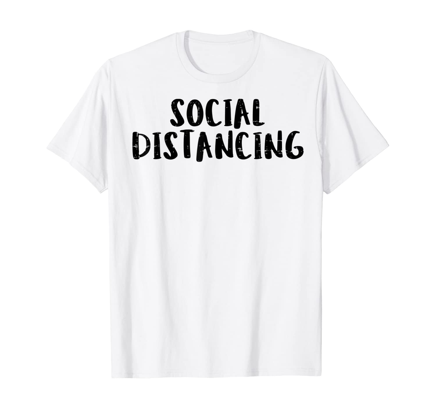 Social Distancing Quarantine Isolation Introvert Gift T-Shirt