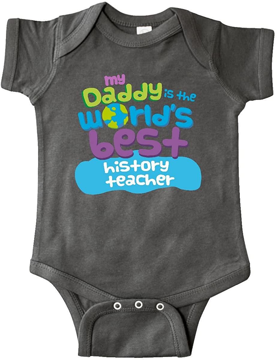 inktastic World's Best History Teacher Daddy Infant Creeper