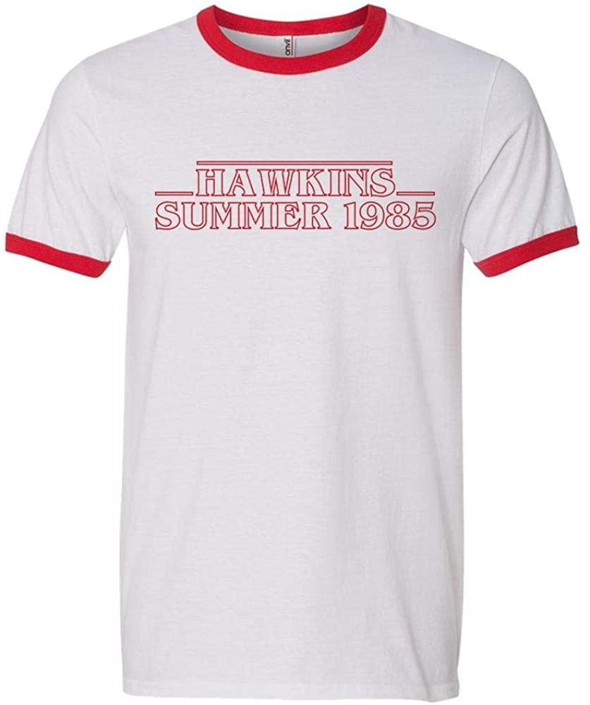Hawkins Summer 1985 Ringer Tee Shirt Unisex