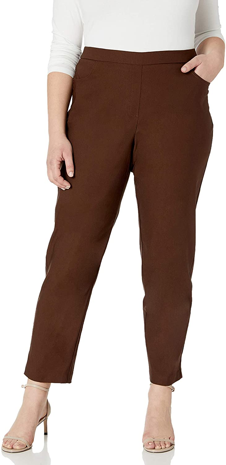 Alfred Dunner Women's Petite Proportioned Medium Allure Slim Pant
