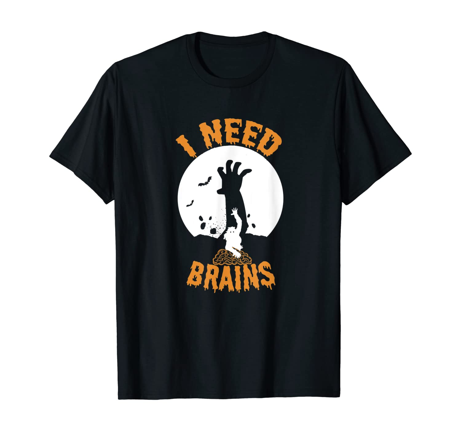 Halloween - I Need Brains T-Shirt