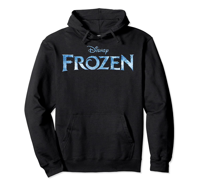Disney Frozen Title Logo Pullover Hoodie