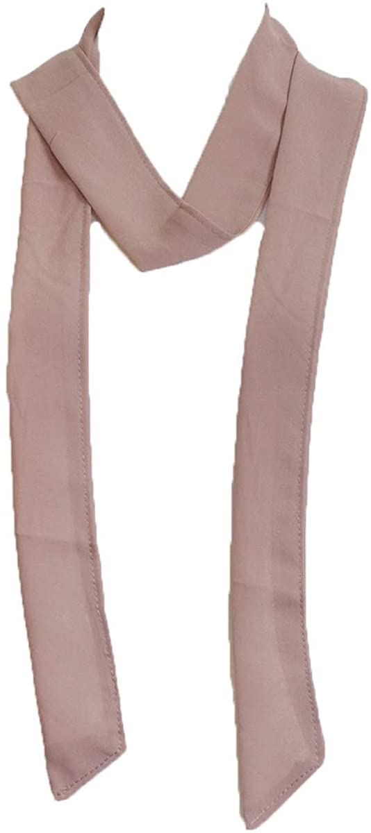 plain, Solid color, Summer skinny scarf, narrow fashion scarf