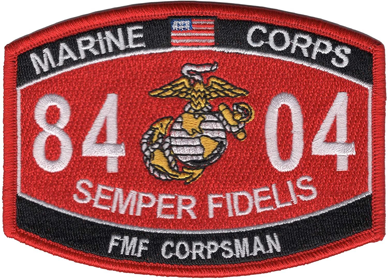 Fleet Marine Force Corpsman 8404 MOS Patch-A
