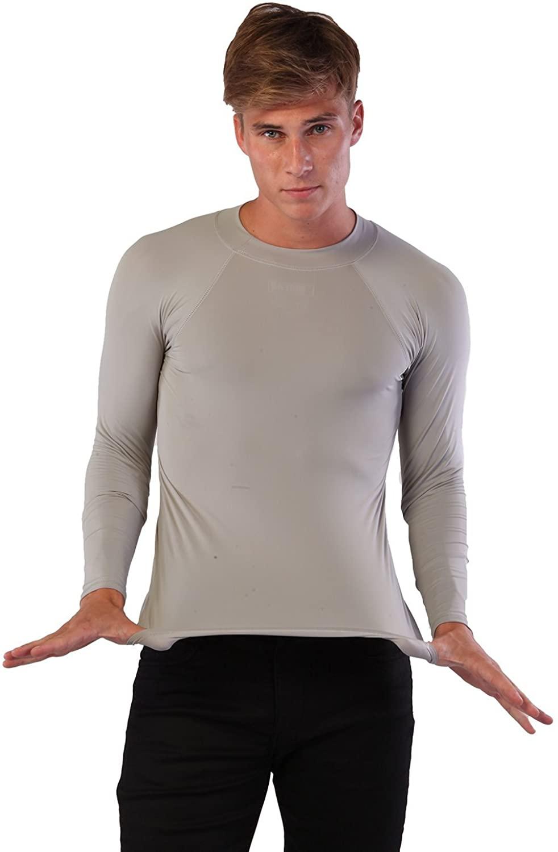 INGEAR Men Rash Guard Made USA Long Sleeve Shirt Swimwear Beachwear